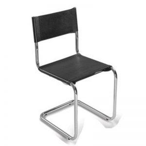 Cadeira aproximação couro natural CHROMA