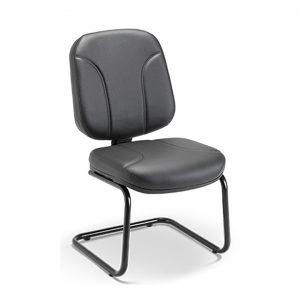 Cadeira diretor aproximação pés em S operativa
