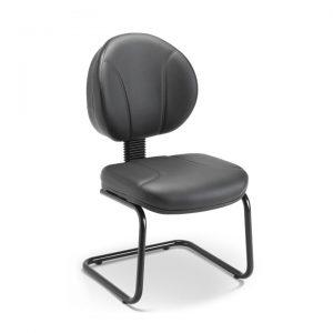 Cadeira executiva aproximação pés em S operativa