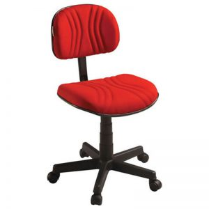 Cadeira secretaria giratória certificada START PLUS