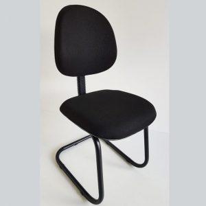 Cadeira executiva de aproximação pés em S
