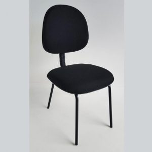 Cadeira executiva de aproximação com 04 pés