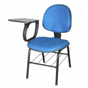 Cadeira executiva universitária escamoteável