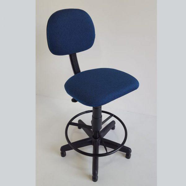 Cadeira secretária caixa alta