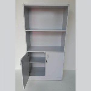 Armário semi aberto em MDP com 02 portas Econômica