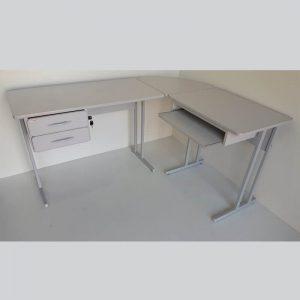 Kit mesa em L MDP 180cm Econômica