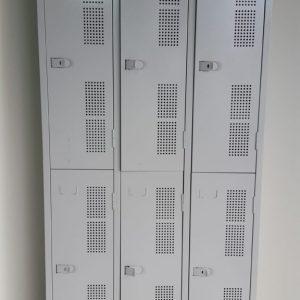 Armário vestiário 06 portas grandes