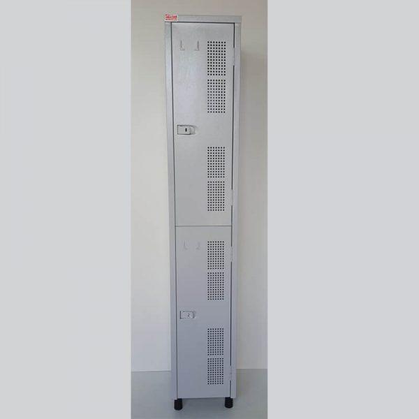 Armário vestiário em aço com 02 portas