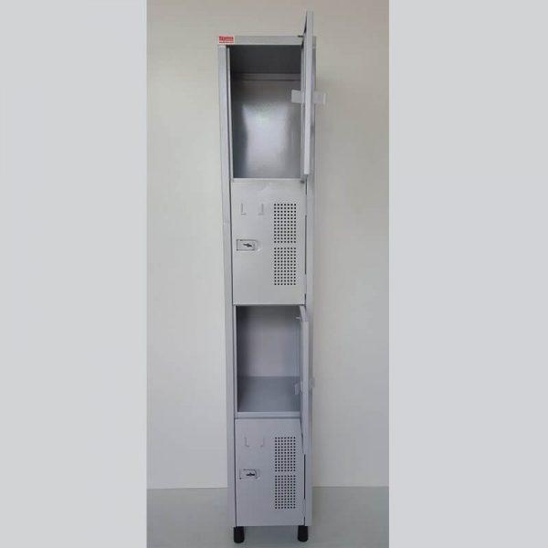 Armário vestiário com 04 portas pequenas