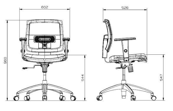 Cadeira Executiva certificada BRIZZA