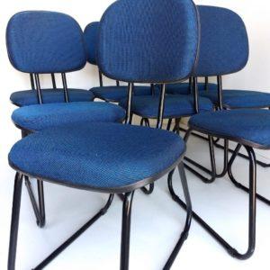 Cadeira trapézio conjunto de 8 unidades