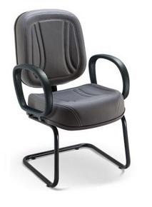Cadeira Diretor Fixa Base ¨S¨ Premium